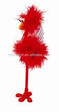wholesale cartoon ostrich up-right pen villus pen
