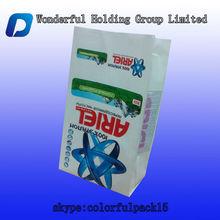 ARIEL washing/cleaning powder packaging bag/side gusset wash bag