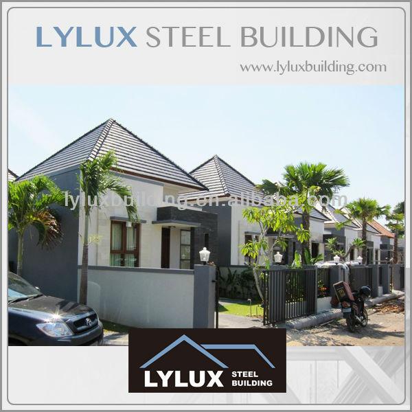 Prefab Steel Vacation House Villa Apartment Metal Green