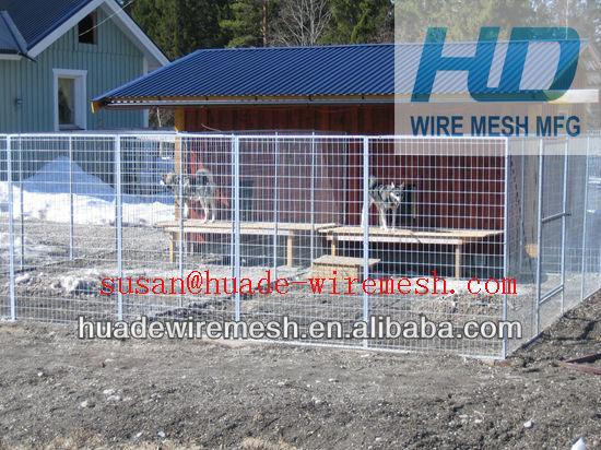dog kennel panel/iron fence dog kennel/1.8x1.2m dog fence