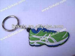3d custom PVC sport running shoes keychain