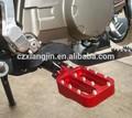 de aluminio cnc de la aleación de la motocicleta reposapiés