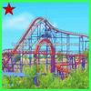 Amusement park big roller coaster for sale