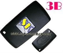 Citroen C4 3 Remote Key with 3 button Full Genuie Remote 433HMZ