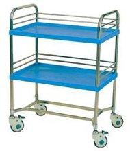 stainless steel hospital emergency cart