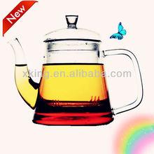 EXPORT TO USA glass tea pot with LFGB,FDA