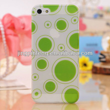for iphone 5 case, full color printing logo on hard cover