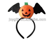 Funny pumpkin halloween headband