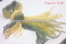 2013 fashion dongfeng gauze 100% silk