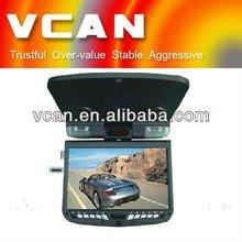 "9"" 12V TFT-LED TV flip down DVD with game/cd player VCAN0356-3"