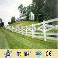 Zhejiang AFOL nouveau design sécurité pvc clôture ranch crossbuck clôture