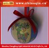 new foam christmas hang hollow decorative ball