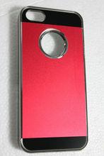 for iphone 5 aluminum plastic chrome case