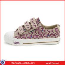 2013 Latest Womens Velcro Canvas Shoes