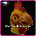 China fabricante de halloween festa cosplay eco- friendly látex galo máscara