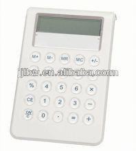 8 digital Acryl white calculator