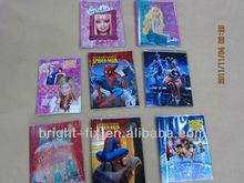 A5 creative book cover design/ Plastic school book covers design
