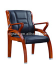 2013 modern leather conference chair is made by solid wood and genuine leather
