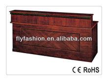 Guangzhou Flyfashion wooden office counter desk/office cheap reception desk CT-30