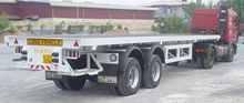 2 Axle Flat Deck Trailer
