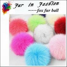 Fox Fur Pom Pom
