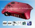 Tv projetor, porta usb do projetor, mini projetor de dvd player tv tuner