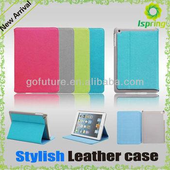 2013 factory supply, colorful custom case for mini ipad