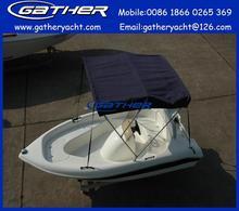 Hot sale ce certificate 12ft fiberglass sport boat
