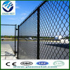 pvc coated thick wire chain link fence(factory)