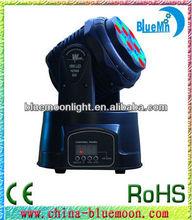 KTV/Bar/Party 12ch RGB 18pcs mini 3w led beam light