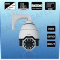 de alta resolución de el aeropuerto de equipos effio ccd ir cámara de seguridad cctv pan tilt domo de velocidad