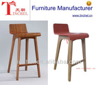 2013 high quality wooden barstool/elegant bar stool high chair/wooden high chair for kitchen room T42