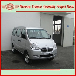 Euro IV Standard Gasoline Engine Super Cool A/C 8 Seats or 600 KG Loading Capacity Commercial Model Van