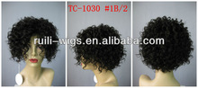 Fashion lady short curly wig / 5A best quality short wig