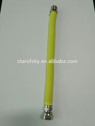 SUS304 Metal flexible expandable cooker gas hose PE coated