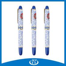 Traditional Design Metal Roller Pen, Chinese Writing Pen, Uni Ball Gel Pen