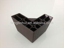triangle plastic sofa leg plastic feet