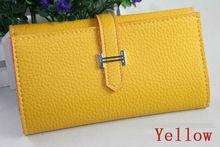 Fashion faux leather clutch wallet for women