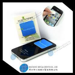Magic self adhesive phone screen cleaner