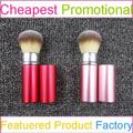 fay avon fábrica de color hermoso brillo taklon cosmético retráctil cara cepillos cepillos de cosméticos