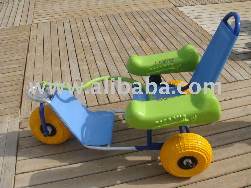 Oceanic do bebê - praia cadeira de rodas