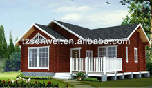 wooden house with two bedrooms;holiday house;bungalow
