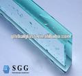 La buena calidad de china 25 mm grueso vaso de vidrio templado transparente