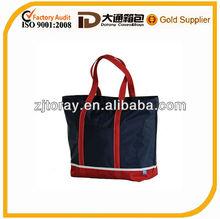 Harbour Nylon Large Zip Tote Shopping Bag