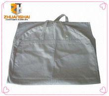 nature color cotton fabric dustproof suit cover garment bag