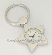 keychain with clock
