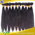 1b 36 pulgadas larga recta cabello humano extensión de cola de caballo