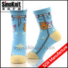 Cartoon Colorful Blue Cute Children Tube Socks