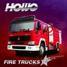 sinotruk 6*4 336h fire truck manufacturers europe
