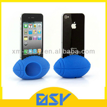 Basketball/Football/Rugby/Egg Shape Silicone Trumpet/Horn Stand for iPhone, Amplifier